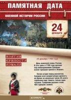 24 декабря - День воинской славы России.