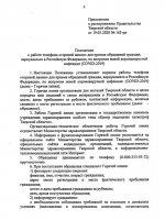 Распоряжение Правительства Тверской области